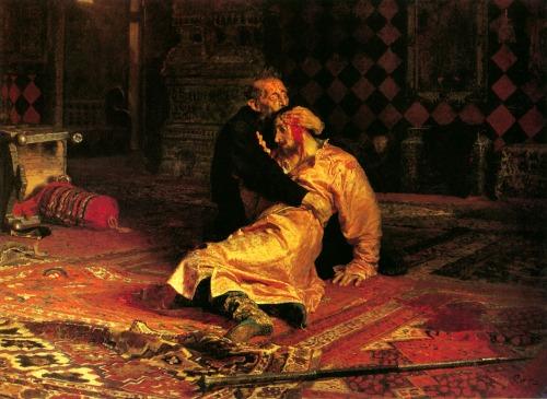 Iván el Terrible y su hijo (1885) - Iliá Yefímovich Repin